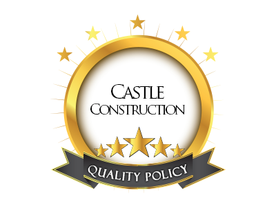 castle construction quality policy emblem