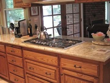 Burgstahler Custom Home-Kitchen