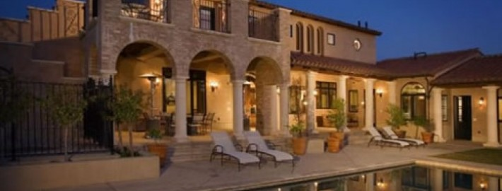 Various Residential Construction Projects-Custom Home-Backyard